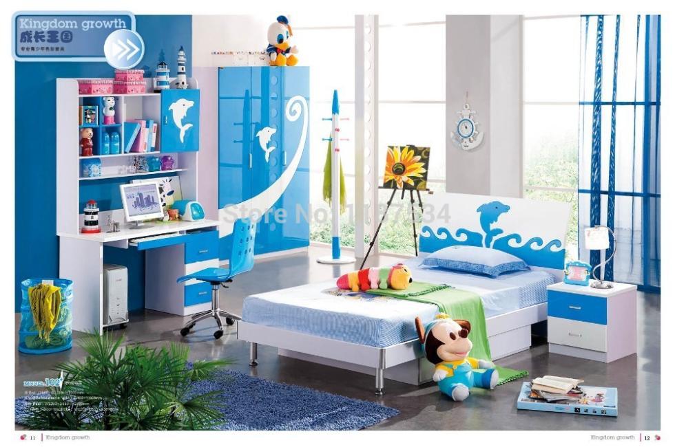 102 estilo moderno ni os juego de dormitorio muebles - Muebles dormitorio ninos ...