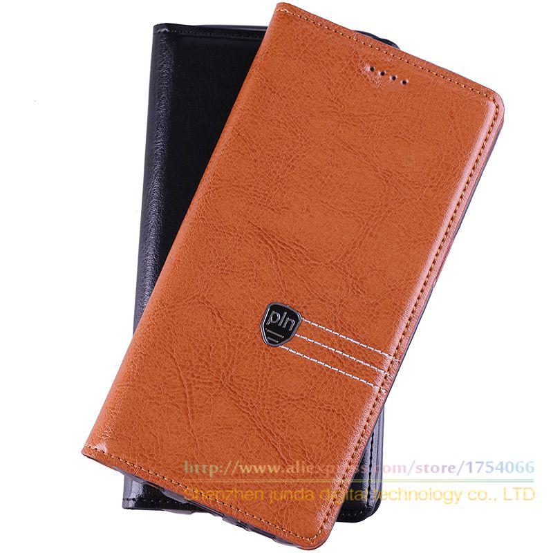 Top Retro Genuine Leather Magnet Flip Stand Case ASUS Zenfone 2 ZE551ML (5.5 inch) Luxury Phone Cover  -  Shenzhen Junda Digital Store store