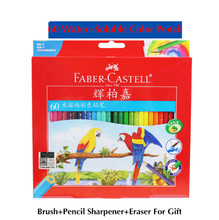 Buy Faber-Castell 48/60 Colors Watercolor Colored Pencils lapis Water-Soluble Color Pencil School Art Supplies lapices de colores for $9.99 in AliExpress store