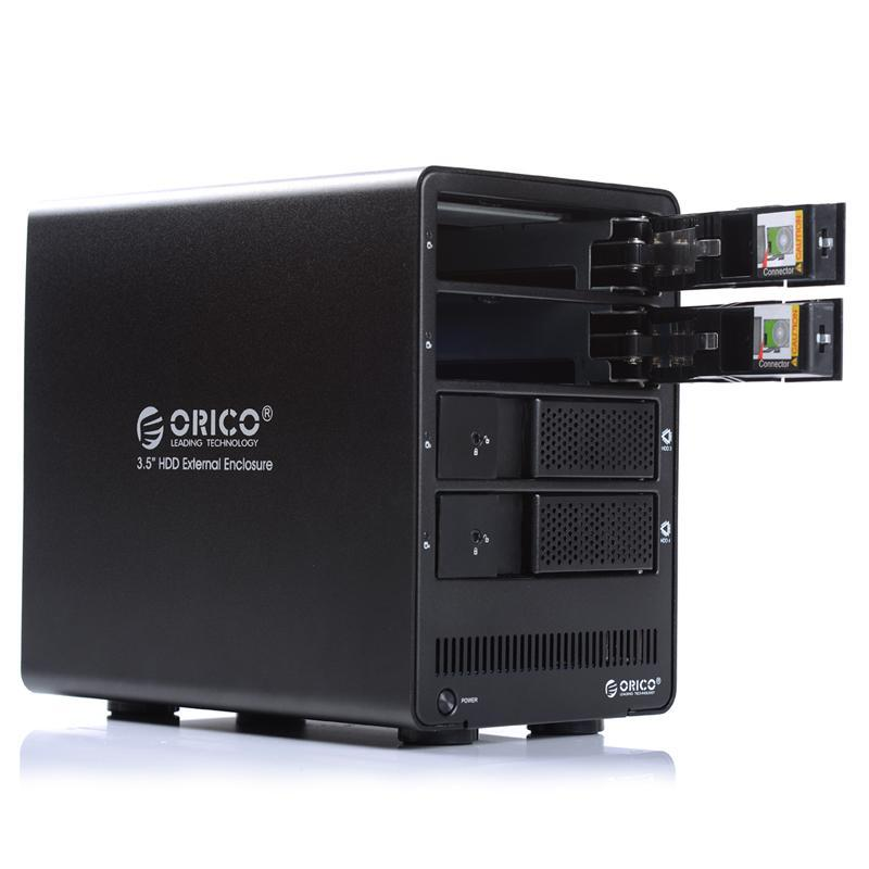 4 Bay ORICO 9548RU3 USB3.0 Disk Enclosure SATA Hard Drive RAID HDD ...