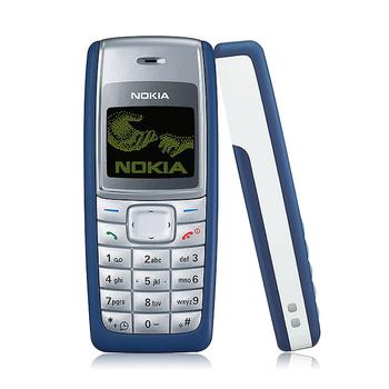 Дешевые оригинал Nokia 1110 двухдиапазонный классический сотовый телефон 1 год гарантии восстановленное бесплатная доставка