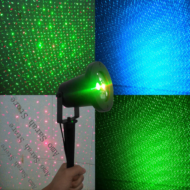 mini Red Blue Green RGB Waterproof Outdoor Laser firefly