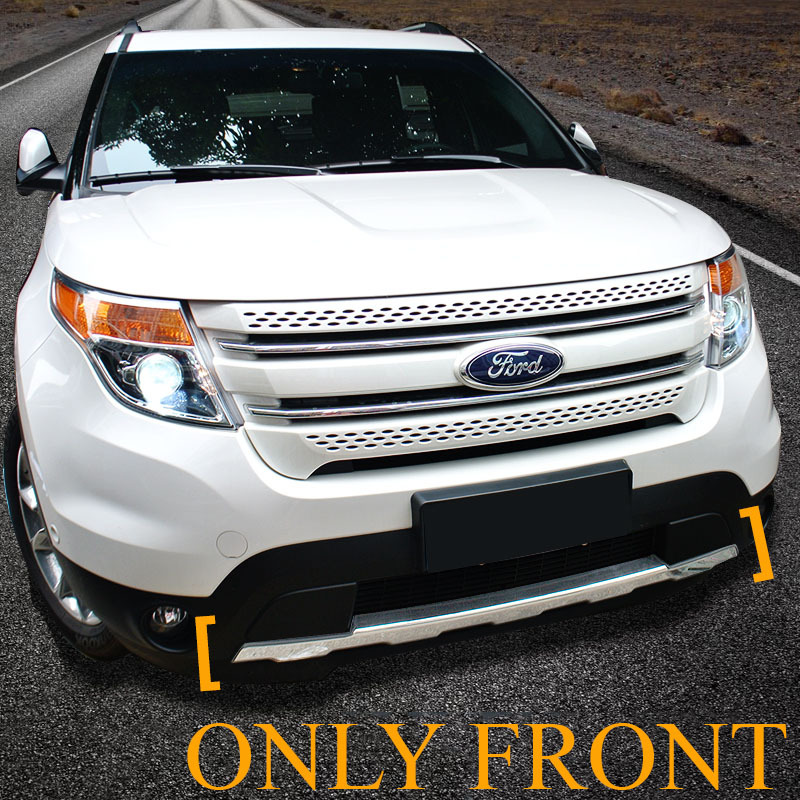 For Ford Explorer Only Front Bumper Sill Plate Protector 2011 2012 2013 2014 2015 Year In