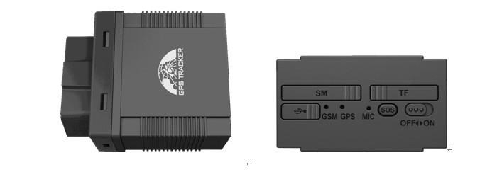 Gps трекер gps306b, 2.4 г, Obd данных, Фунтов, Голос монитор, В режиме реального времени отслеживать
