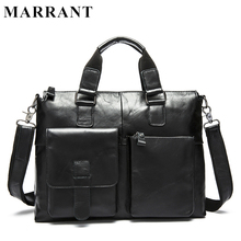 MARRANT Genuine Leather Bag Fashion Handbags Cowhide Men Crossbody Bags Men's Travel Bag Tote Laptop Briefcases Men Bags 260(China (Mainland))