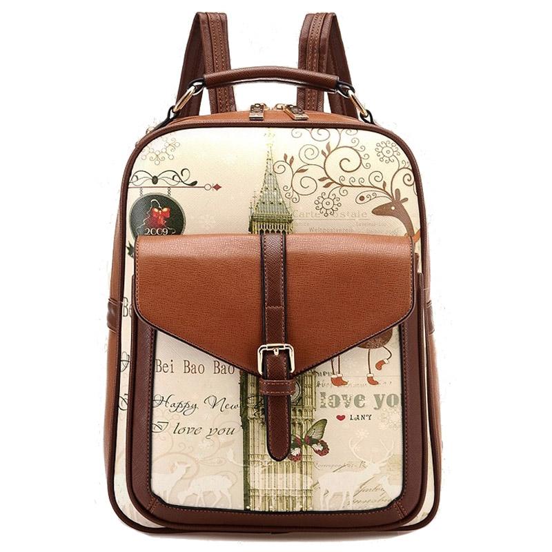 Children School Bags Korean Pu Childern schoolbag kids Backpacks mochila backpack school bag for teenager girls<br><br>Aliexpress