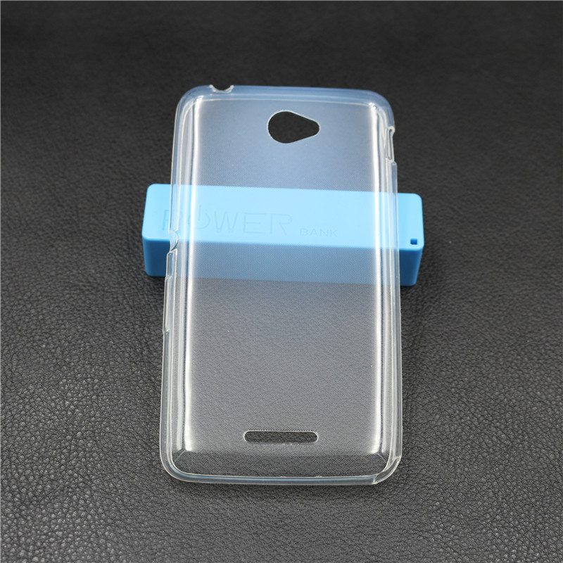 Soft TPU Gel Cover Sony Xperia E4 Case Ultra Thin Back Cover Clear Transparent Silicone Protective Case Sony E4 Capa