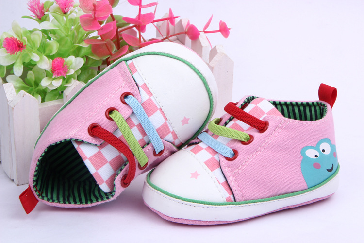 Free shipping!one pair for retail,drop shopping! Cartoon frog baby shoes,new born baby prewalker,girls shoes<br><br>Aliexpress