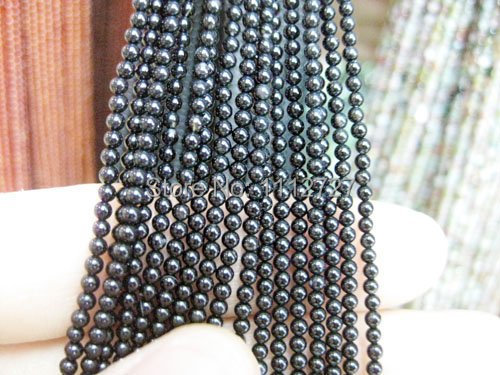 "free Shipping 2014 Fashion diy 3mm Black Agate Round Ball Beads jewelry Natural Stone 15"" GS443 Wholesale Price(China (Mainland))"