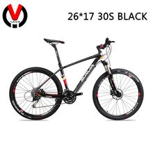 "New SAVA 27/30 Speed Carbon Fiber MTB Mountain Bike-M8 26/27.5"" Ultralight Bicycle &Shimano M396/SENSAN 30S Derailleur(China (Mainland))"