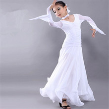 Waltz, Oxtrot,Tango,2016 Modern dance dress And Ballroom dress Children Long-sleeved  Size S-XXL Free Shipping(China (Mainland))