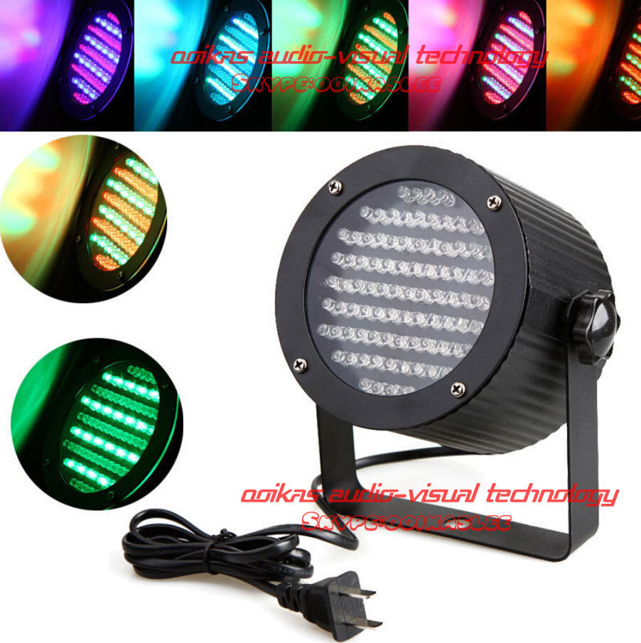 86 RGB LED Light PAR DMX512 Lighting Laser Projector DJ Stage 4 Channel 25W  Party Disco Show Led Par Light sound lights<br><br>Aliexpress