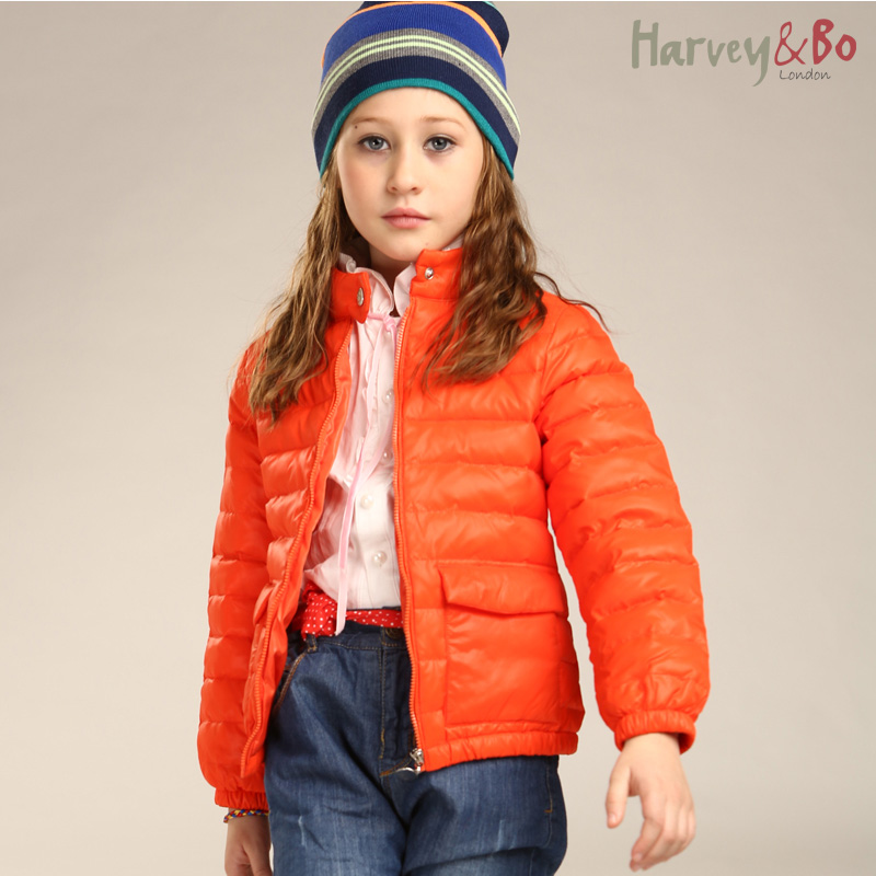 Harvey&amp;Bo kids outerwear girls autumn winter thin down short jackets family fashion clothes for mother and daughter/son coat<br><br>Aliexpress