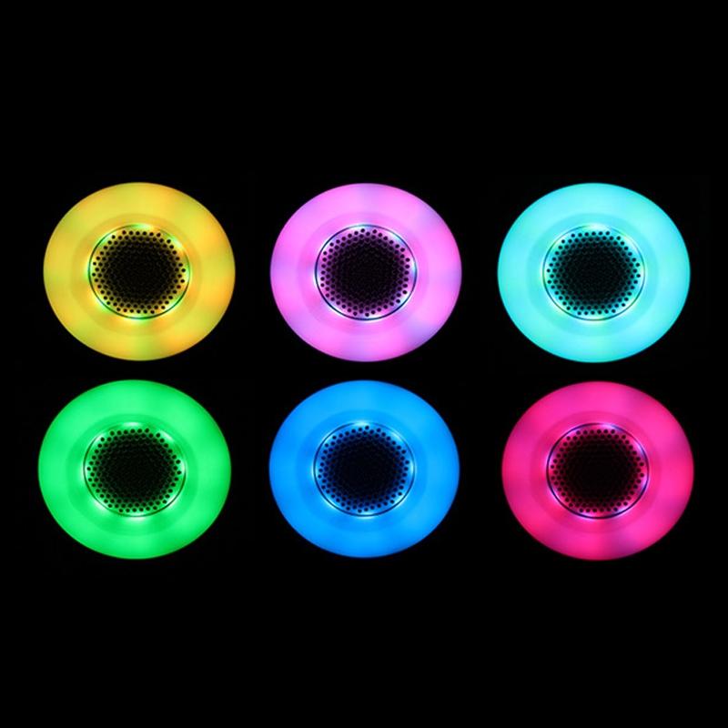 Top quality E27 Bluetooth Smart LED Bulb Light Music Audio Speaker Magic Lamp Green(China (Mainland))