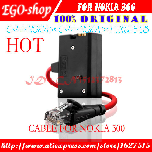 free shipping Cable For Nokia 300 For JAF/UFS BOX(China (Mainland))