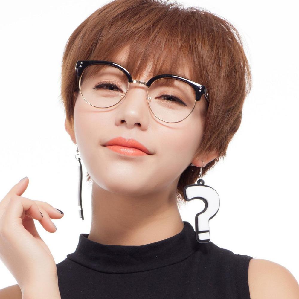 Japanese Half Frame Glasses : Popular Half Frame Nerd Glasses-Buy Cheap Half Frame Nerd ...