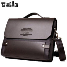 Man Business Briefcase Bag High Quality Leather Men Briefcases Office Work Bags Famous Brand Large Size Bag 39503(China (Mainland))
