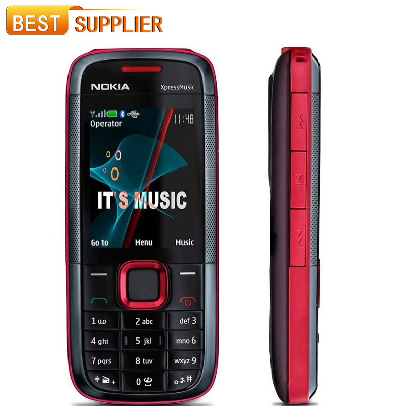 2016 Promotion Special Offer Color Normal(>10mm) Bar Gsm Original Unlocked Nokia 5130 Xpressmusic Mobile Phone Russian Keyboard(China (Mainland))