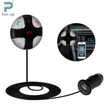 FM Transmitter Bluetooth V3.0 Car Kit MP3 Player Wireless Modulator with LED Display USB Charger Support SD Tf Card for iPhone(China (Mainland))