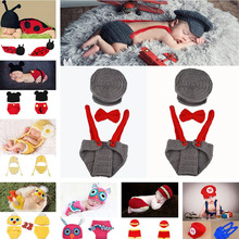 Crochet Baby Boy Gentleman Hat Bow Tie Pants Set Knitted Baby Hat Newborns Photo Props Infant Knitting Outfits 1set MZS-15039(China (Mainland))