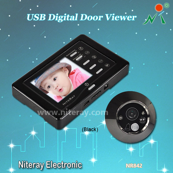 digital eye door infrared wireless door monitor electronic peephole door viewer