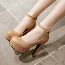 Buy Dames Schoenen Big Size High Heels Shoes Women Pumps Ladies Chaussure Femme Talon Zapatos Mujer Tacones Sapatos Femininos 99-11 for $21.16 in AliExpress store