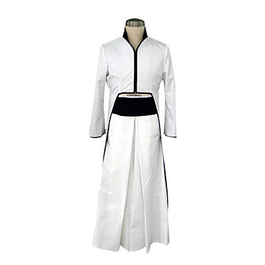 product Ulquiorra Schiffer Cosplay Costume Cuarto Espada Cosplay Costume Sets White And Black Anime Cos Costumes Different Sizes 2670