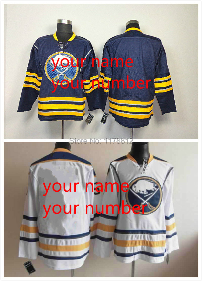 Customized buffalo sabres jersey Personalized Your Name And Your Number hockey buffalo sabres Jerseys Embroidery Logos