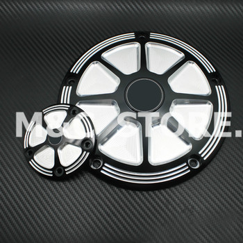NEW !!! CNC Deep Cut Derby Timing Timer Covers Cover For Harley Road King Softail Dyna FLHRS FLTFB
