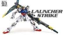 Toy Spot / LTZ models /Dragon MOMOKO / MG 1: 100 / Strike Gundam / launcher strike/7 inch Assembled with high quality(China (Mainland))