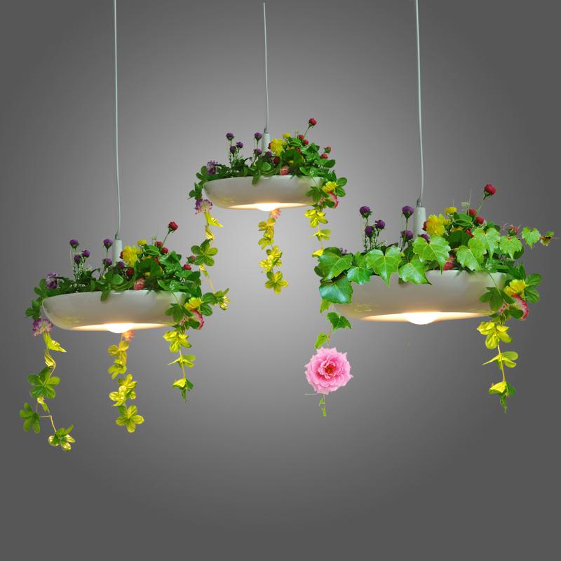 The Nordic country pendant lamp wind pot disk Babylon Babylon plant Pendant Lights pots hanging lamp(China (Mainland))