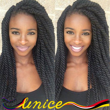 Havana Mambo Twist Hair Extensions 14 Inches Havana Mambo Twist Synthetic Dreadlocs Braiding Hair Extension For Women