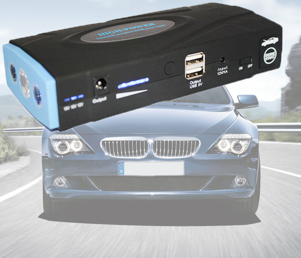 Super Function Mobile Power Bank 38000mAh Auto AMPS Jump Starter Emergency Start Power Car Charger Mobile CNP(China (Mainland))