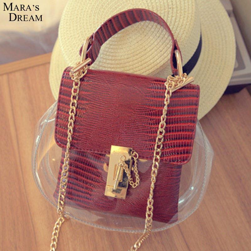 Mara's Dream New Hot Vintage Europe Fashion Women Transparent Handbag Sweet Jelly Beach Bag Candy Colors Shoulder Bags Tote bag(China (Mainland))