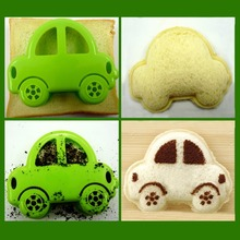 Kitchen Accessories Bakeware Cake Tools Novelty Kitchen DIY Bread Sushi Tools Cartoon Little Car Mould Sandwich Cookie Cutter