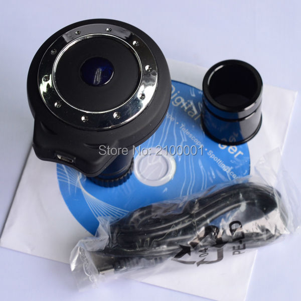 Free Shipping ! 1.3MP USB CMOS MICROSCOPE DIGITAL CAMERA ,DIGITAL EYEPIECE(China (Mainland))