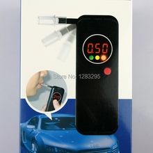 LCD Police Digital Breath Alcohol Tester Breathalyzer Meter SLIM ULTRA BREATH ALCOHOL TESTER(China (Mainland))
