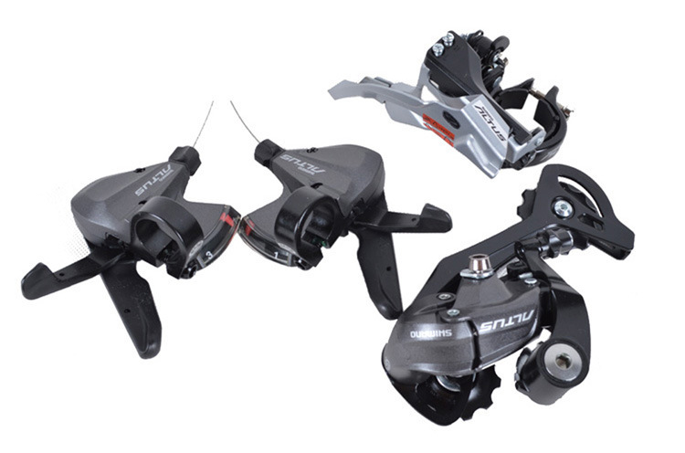 Фотография Free shipping  M370 M390 M590 3x9 27s Groupsets 3*9speed 27speed for SHIMANO M430 groupset