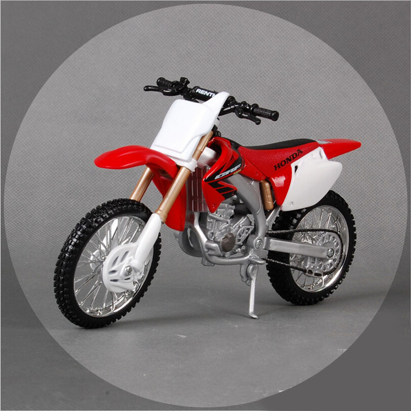 Maisto 1:12 scale Honda CRF 450R motorbike race cars die cast metal tank cars models motorcycles hotwheels for children toys(China (Mainland))