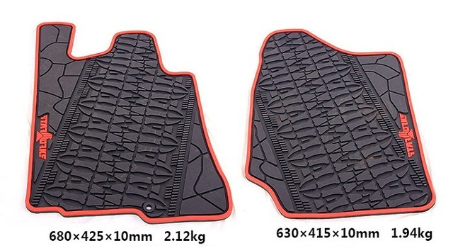 Comprar negro heavy duty todo temporada alfombra del piso de goma para suzuki - Alfombra de goma para piso ...