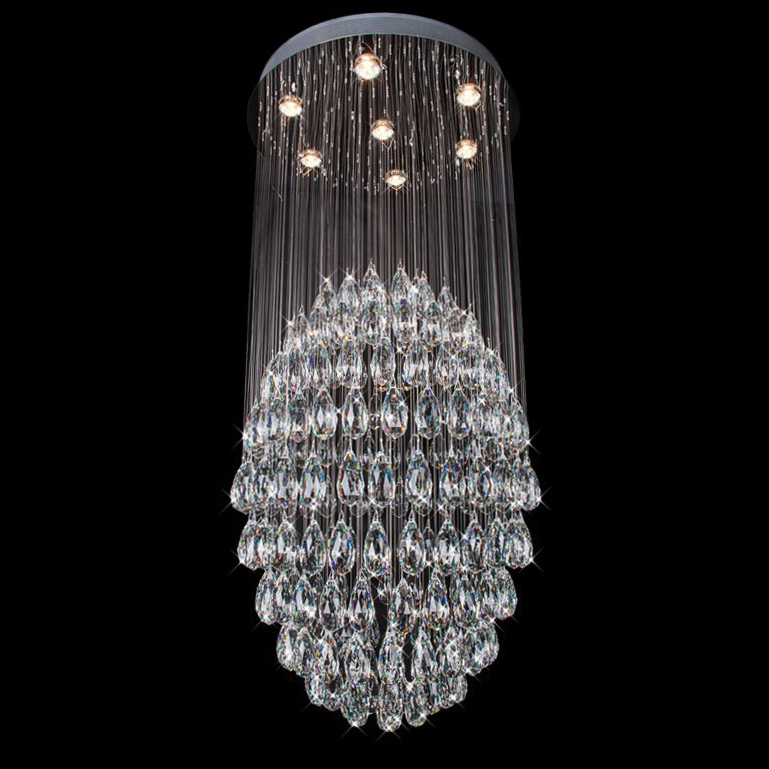 Compare prices on large crystal chandeliers for sale online shopping buy low price large - Chandeliers online shopping ...
