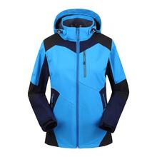 Soft shell woman autumn winter jacket Outdoor jaqueta Camping sports coat fashion mountain jackets waterproof Windproof