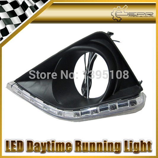 Фотография New Car Styling Auto Lamp For Toyota Corolla 2007-2009 LED Daytime Running Light DRL Car Accessories