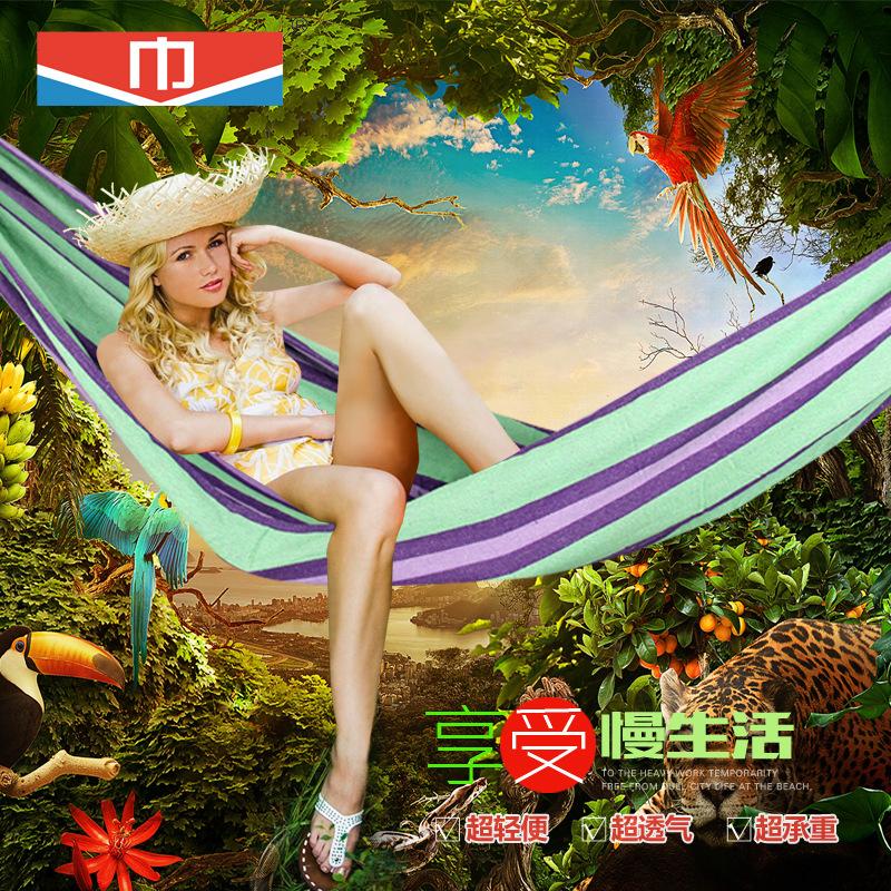 camping hammock hammacas camping indoor hammock imported furniture hangmat hamak hammock balkon(China (Mainland))
