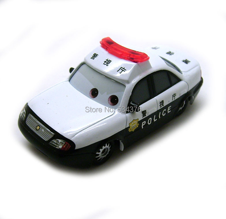 Pixar Movie Cars Diecast Toy Vehicle Toon Patokaa Tokyo Police Loose Rare(China (Mainland))