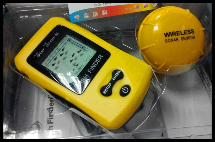 fish finder portable battery