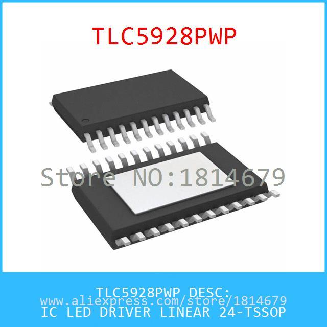 Hot Sell Integrated Circuits Original TLC5928PWP IC LED DRIVER LINEAR 24-TSSOP 5928 TLC5928 1pcs(China (Mainland))