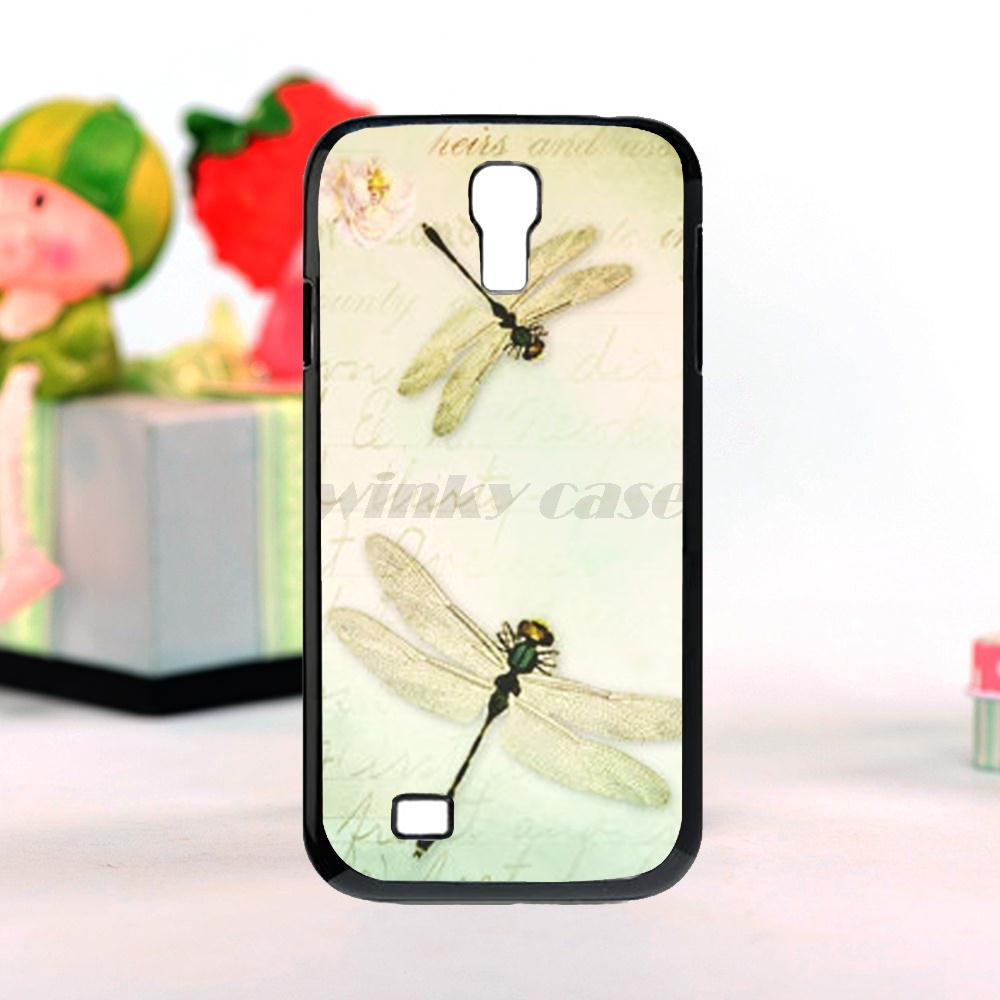 new spring dragonfly Colorful Phone Accessories For galaxy s4 mini Mobile Phone Cases Free shipping(China (Mainland))
