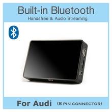 USB Bluetooth Handsfree A2DP AUX Digital CD Changer Adapter for Audi A4 A2 A3 A6 A8 TT Allroad Car Audio(China (Mainland))