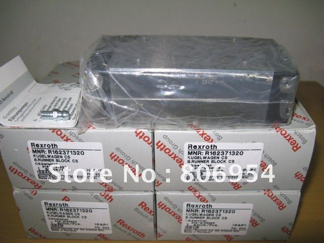 R162371320 Rexroth Runner Block Ball Carriage Linear Bearing